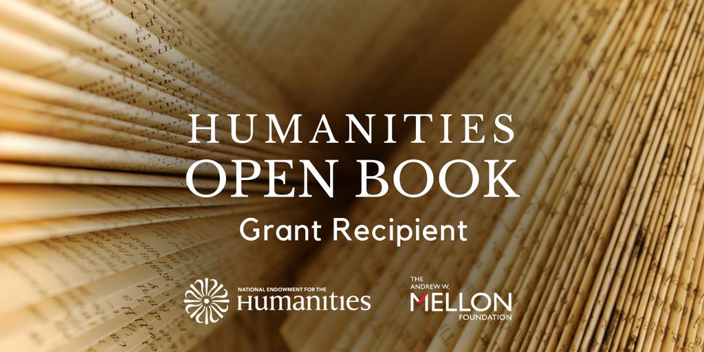 NEH Open Book Grant Recipient