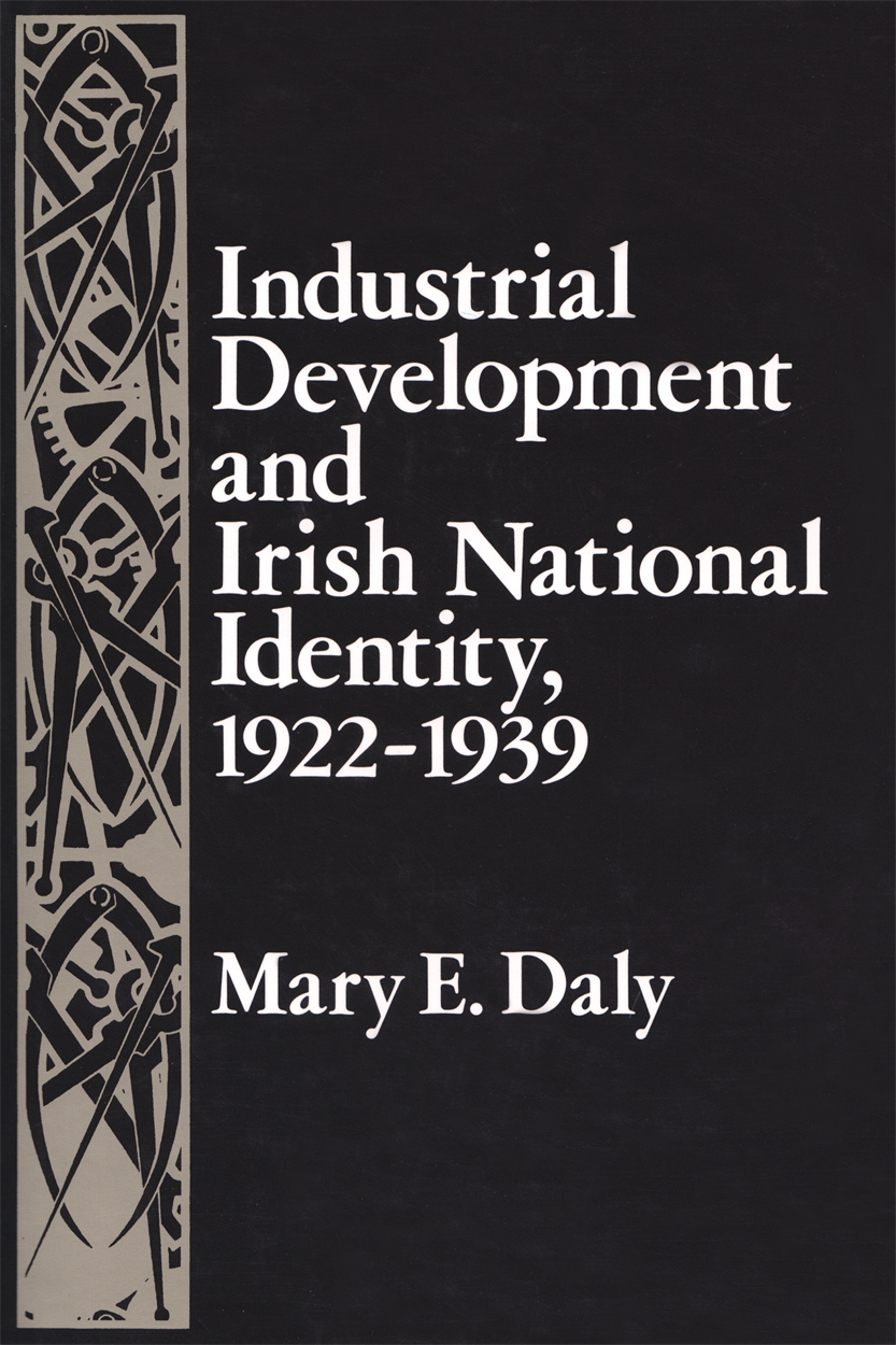 Book cover art for Industrial Development and Irish National Identity